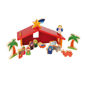 Children's Wooden Nativity Set - nativity scenes & figures