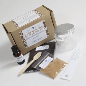Make Your Own Body Scrub Kit