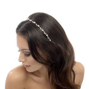Helena Crystal Hair Band - head pieces