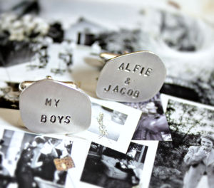 Personalised Organic Cufflinks - shop by category