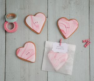 20 Personalised Wedding Favour Biscuits