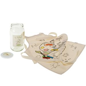 Fabric Art Doodle Apron Kit