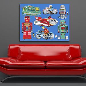 Pop Art Tin Toy Print No3