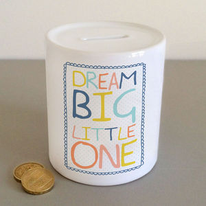New Baby Money Jar - storage & organisers