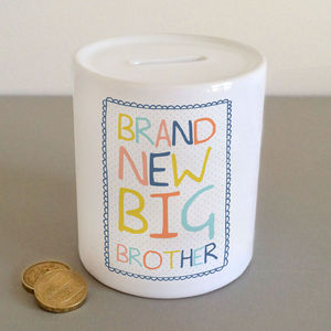 'Brand New Big Brother' Money Jar - money boxes