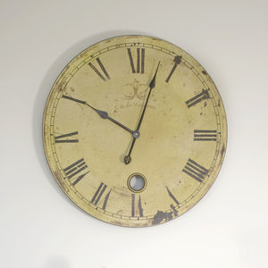 Round French Wall Clock - decorative accessories