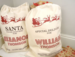 Personalised Christmas Sack - bags, purses & wallets