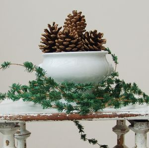 Fir Table Garland - rustic woodland