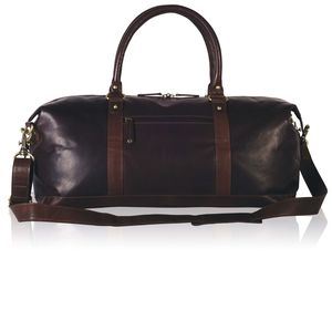 Leather Weekender Holdall - bags & purses