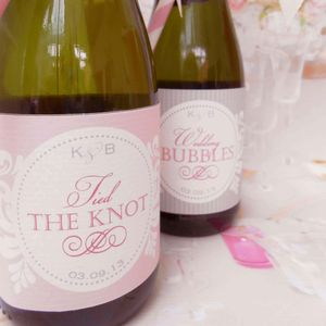 Woodland Fairytale Bottle Label - wedding favours