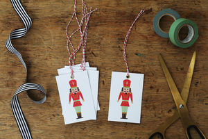 Nutcracker Christmas Gift Tags