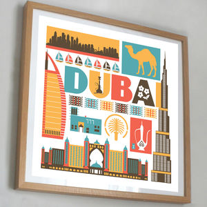 Dubai United Arab Emirates Print