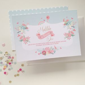 Marvellous Matilda Invitation Set