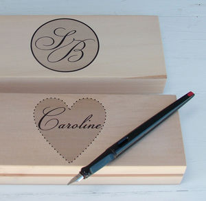 Personalised Monogram Little Box