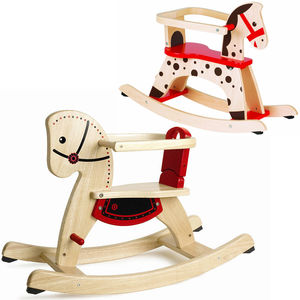 Three Fun Rocking Horses - premium toys & games