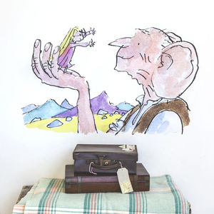 'The Bfg' Quentin Blake Wall Sticker
