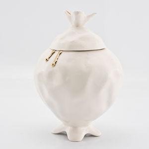Handmade Porcelain Sugar Bowl