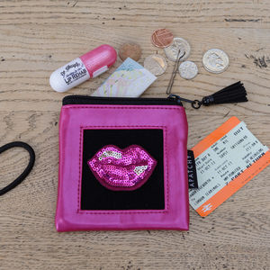Customised Pink Purse