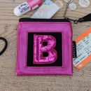 Personalised Pink Purse
