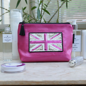 Customised Pink Cosmetic Pouch