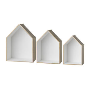 House Display Boxes - shelves