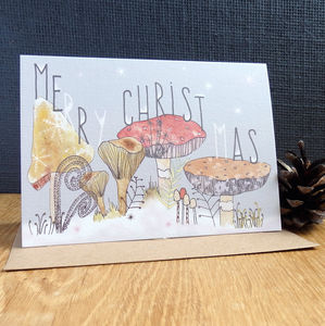 'Merry Christmas' Greetings Card - cards & wrap