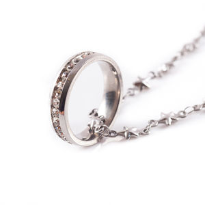 Ring Star Necklace - women's jewellery