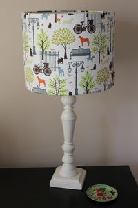 Medium Handmade Lampshade - lamp bases & shades