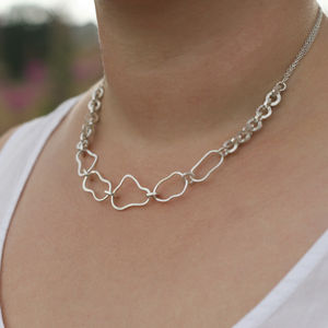 Mixed Link Necklace - necklaces & pendants