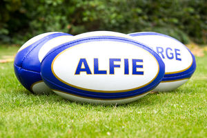 Personalised Rugby Ball - games