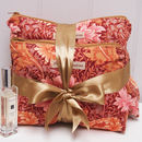 Wash And Make Up Bag Set W.Morris Chrysanthemum