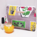Make Up Bag Fifties Floral