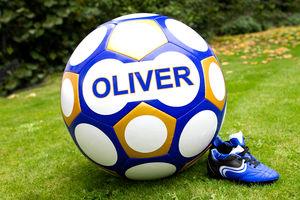 Giant Personalised Football - summer activities