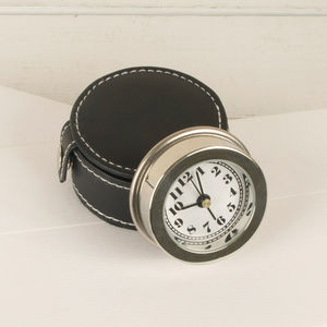 Gentlemen's Travel Alarm Clock - bedroom