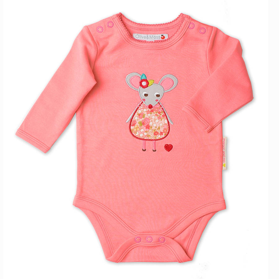 Newborn Margot And Mo Bodysuit Was £14