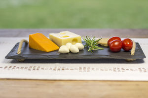 Welsh Slate Cheeseboard - cheese boards & knives
