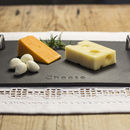 Engraved Welsh Slate Cheeseboard