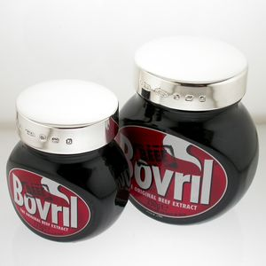 Silver Bovril Lid 125g - mustards & seasonings