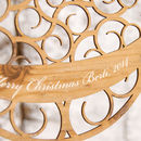Personalised Bauble Christmas Decoration
