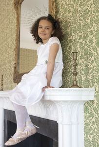 Corsage Dress - flower girl fashion