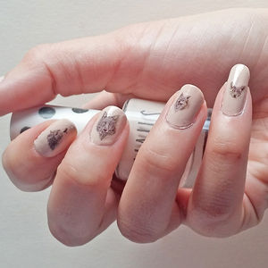 'Wolf Pack' Nail Transfers - nail & body art