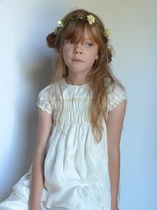 Silk Bronte Dress - flower girl fashion