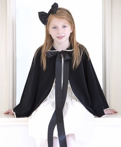Velvet Travel Cloak - children's coats & jackets