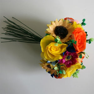 Summer Paper Flower Bouquet