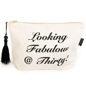 30th 40th 50th Or 60th Make Up Bag