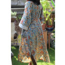 New Floral Dusk Kimono Dressing Gown