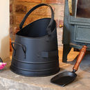 French Coal Bucket With Shovel