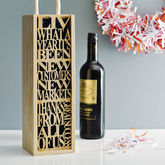 Personalised Bottle Box - corporate gifts
