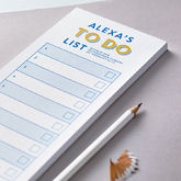 Personalised Corporate To Do List Notepad - corporate gifts