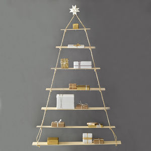 Rope Ladder Alternative Office Christmas Tree